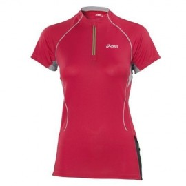 Tshirt trail zip asics