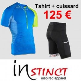 Pack Instinct (Cuissard + T-shirt Sensation)