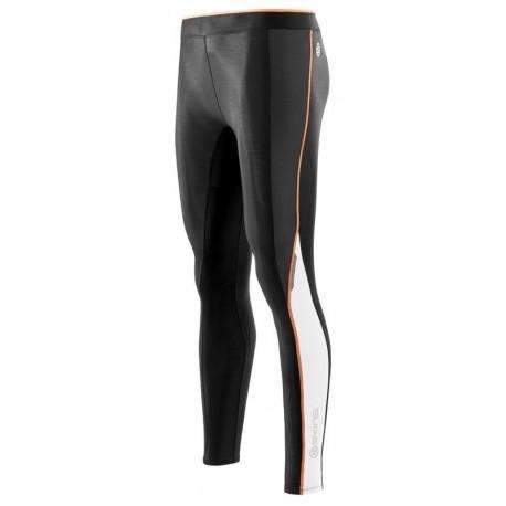 Collant Long Skins A200 Black Papaya