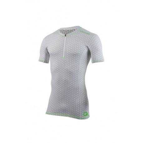 Tshirt Courchevel Ceramiq Col Zip