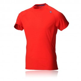 Inov-8 Tshirt Base Elite 115 Merino Manches courtes Rouge