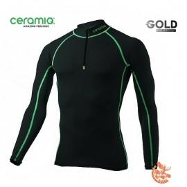 Ceramiq Valloire Tshirt manches longues avec zip