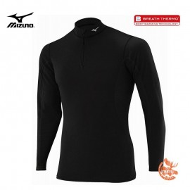 Mizuno Tshirt Manches Longues Midweight 1/2 zip Homme