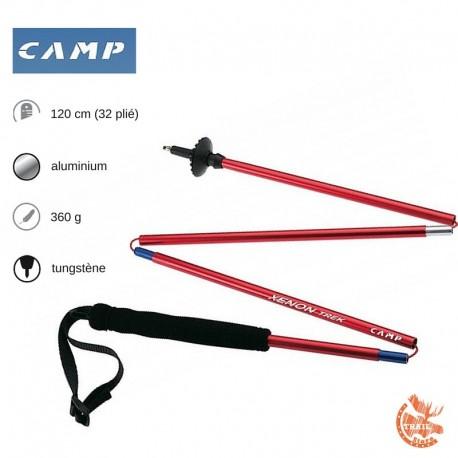 Camp Xenon Trek 120 cm bâton de trail 4 brins