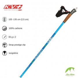 KV+ Bâtons Prestige 100% Carbon - Blue Green