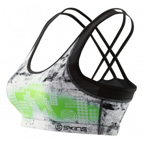 Skins A200 Women's Speed Crop Lime
