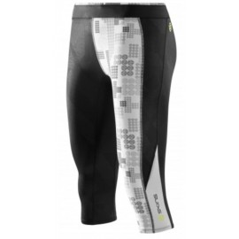 Skins A200 Women's Capri Tights Black/Logo