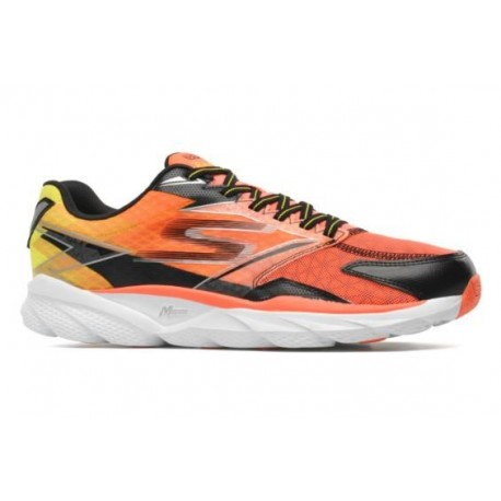Skechers - Go Run Ride 4 Homme - Orange/Black