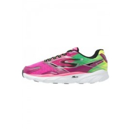 Skechers - Go Run Ride 4 Femme - Hot Pink/Lime