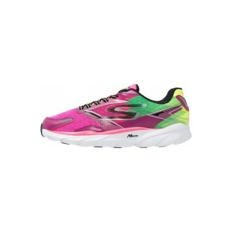 Skechers - Go Run Ride 4 Femme - Hot Pink/Lime