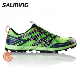 Salming Elements Homme Vert Gecko Navy