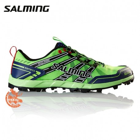 Salming Elements Homme Vert Gecko / Navy