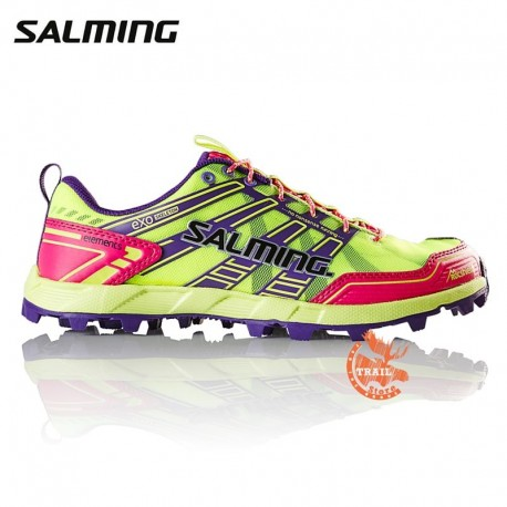 Salming Elements Femme Safety Jaune / Rose