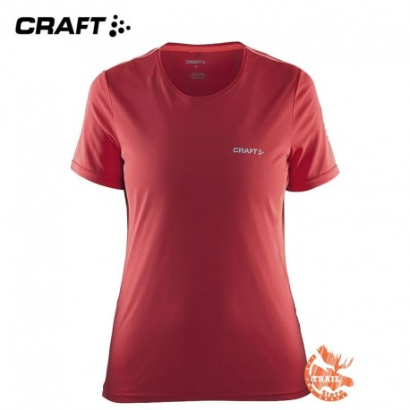 Craft - Mind SS Tee W rouge bordeaux