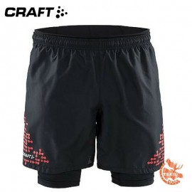 Craft - Trail Short 2 in 1 Homme