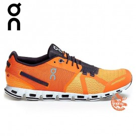 On Running - Cloud Orange / Fire - Homme
