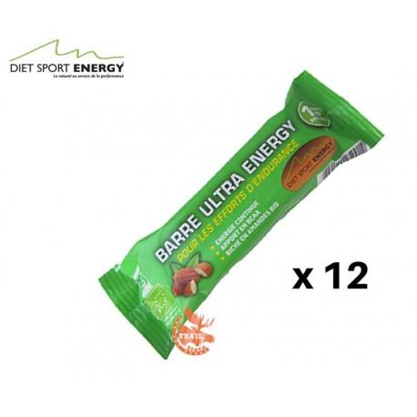 Barre Ultra Energy (pack x12) Endur'Activ