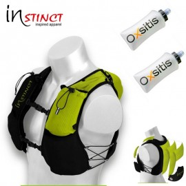 Pack Evolution Trail Vest Instinct avec flasques