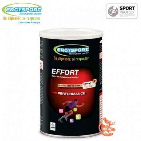 Ergysport Effort - Pot 450 grammes