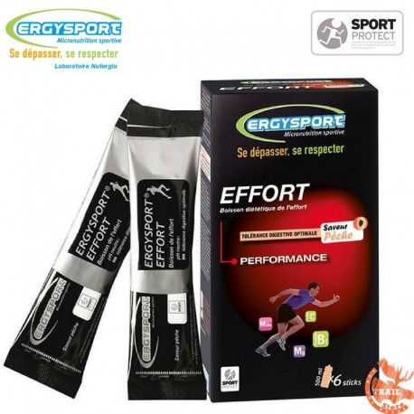 Ergysport Effort - Etui 6 Sticks