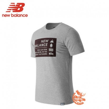 New Balance Split Sport Style Tee Tshirt