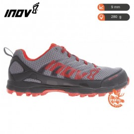Inov-8 Roclite 280 Grey / Red - Standard Fit