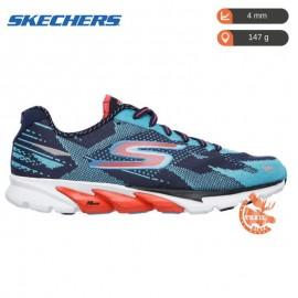 Skechers Gorun 4 Navy Aqua Femme