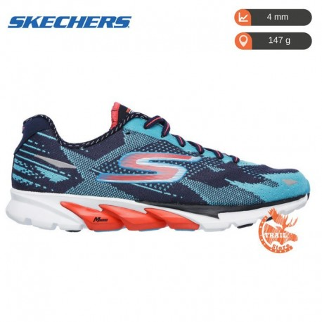 Skechers Gorun 4 Navy / Aqua