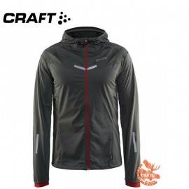 Craft Weather Jacket Men Dark Grey Melange
