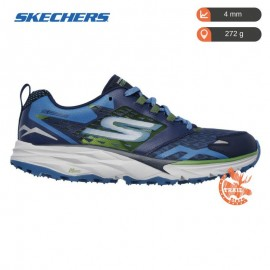 Skechers GoTrail Navy Green