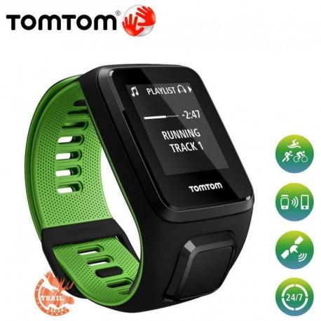 Tomtom Runner 3 Noir/Vert