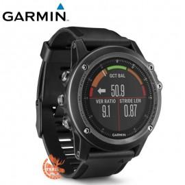 Garmin - Fenix 3 Sapphire Gray - HR Multi-sport - Performer - HRM Run