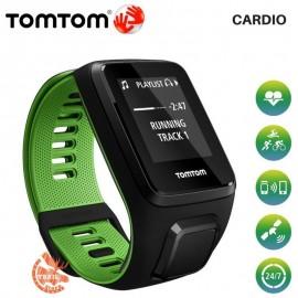 Tomtom Runner 3 Cardio Noir/Vert