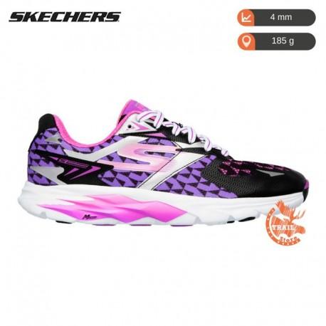 Skechers - Gorun Ride 5 Femme - Black / Corail