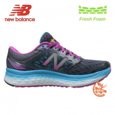 New Balance Fresh Foam 1080 Femme Bleu/Rose