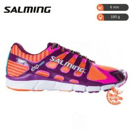 Salming Speed 5 Femme Shocking Orange Dark Orchid
