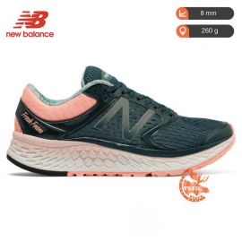 New Balance 1080 V7 Fresh Foam Blue Pink Femme