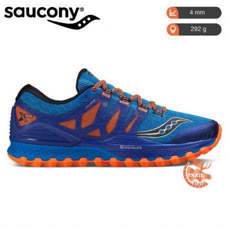Saucony Xodus Iso Bleu Orange Homme