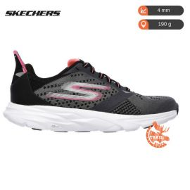 Skechers Gorun Ride 6 Femme Charcoal Hot pink