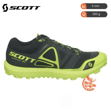 Scott Supertrac RC Black Yellow