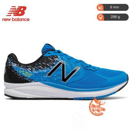 new balance bleu blanche