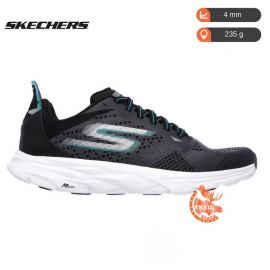 Skechers GoRun Ride 6 Charcoal Teal Homme