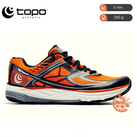 Topo Athletic UltraFly Orange Black