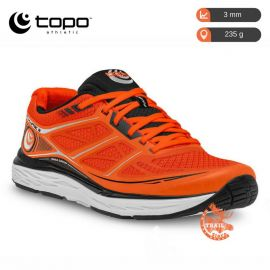 Topo Athletic fli lyte 2 orange noir