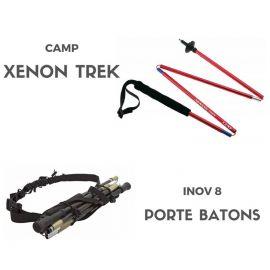 Pack Xenon Trek 120 cm + Ceinture porte Bâton