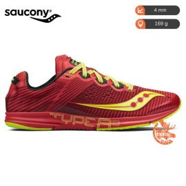 Saucony Type A8 Red Coton Homme