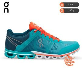 On Running Cloudflow Atlantis Flame Femme