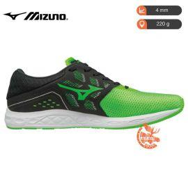 Mizuno Wave Sonic Neon Green Black White Homme Men noire verte vert