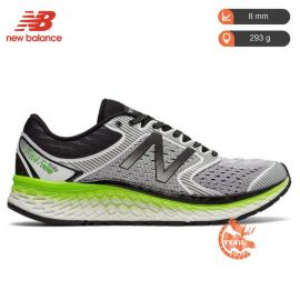 New Balance 1080 V7 Fresh Foam White Green Homme