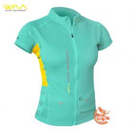 Ultra Carrier Shirt Manches Courtes Femme WAA Mint vert d'eau